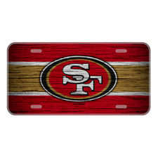 #231 SF 49ers LICENSE PLATE