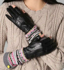 Juicy Couture Tech Gloves Fair Isle Fingerless Armwarmer NEW $98