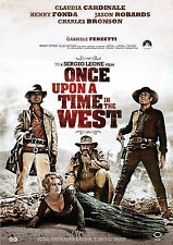 ONCE   UPON   A   TIME   IN   THE   WEST    movie   poster.