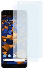 mumbi 2x Folie für Google Pixel 3 Schutzfolie klar Displayschutzfolie Display