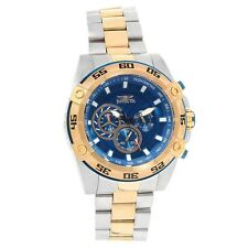 Invicta Speedway Chronograph Blue Dial Mens Watch 25538
