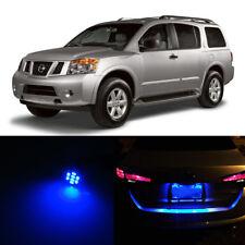 Blue LED License Plate Light For Nissan Armada 2005-2015 2010 2011 2012 2013