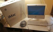 "iMac Model A1195 1.83Ghz Intel 512 MB 160GB 17"" Screen Keyboard Mouse NEW NOS!!"