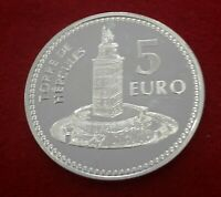 5 Euros 2011 Capitales de Provincia: A Coruña Moneda Plata