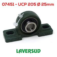 Supporto UCP 205 Ø Diametro 25mm Autoallineante con Cuscinetto UCP205