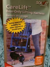 New listing Brand New SOLVIT CareLift Rear-Support Harness, Small fits pets 7-35lbs