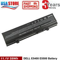 Battery for Dell Latitude E5400 E5500 E5410 E5510 KM742 PX644H CLG