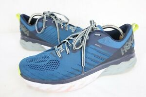 Hoka One One Arahi 3 Blue Green  Running Athletic Shoes Mens Size 10