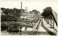 Stittville NY-KNITTING MILL-H.M. Beacon RPPC Postcard btw Holland Patent/Utica