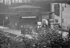 Photo negativ-Berlin-1936-Olympiade-S-Bahnhof-Eichkamp