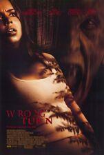 WRONG TURN Movie POSTER 27x40 Desmond Harrington Eliza Dushku Emmanuelle Chriqui