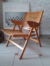 50s mid century modernist design NIKO KRALJ REX CHAIR Stuhl Klappstuhl