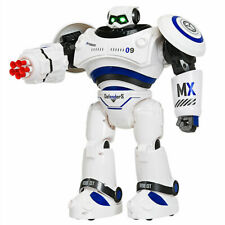 Intelligent Combat Fighting Robot Interactive Toys with Remote Control Blue