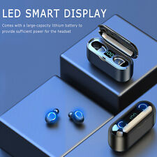 Wireless earphone TWS 5.0 bluetooth earbuds for iPhone waterproof headset 2020