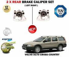 FOR VOLVO XC70 CROSS COUNTRY 1997-2007 2X REAR LEFT + RIGHT BRAKE CALIPERS SET