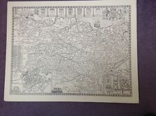 KENT 1610 by John Speed - Uncoloured