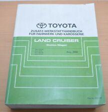 Toyota Land Cruiser  UZJ FZJ HDJ  Zusatz Werkstatthandbuch Fahrwerk Karosserie