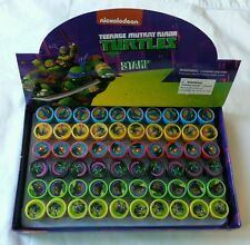 60 pc Mutant Teenage Ninja Turtles Self Inking Stamper Pencil Topper School