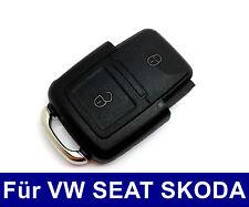 2Tasten Klappschlüssel Gehäuse für VW GOLF TOURAN PASSAT SEAT LEON SKODA BORA
