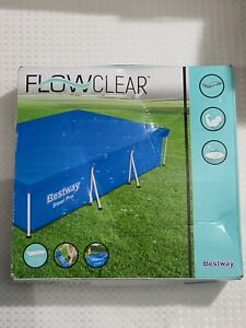 Bestway 58106 Above Ground Swimming Pool Tarp Cover - NEW/SEALED