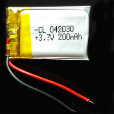 3.7V 200mAh Li-Polymer Lipo ion Battery For Mp3 GPS GPS Radio bluetooth 402030