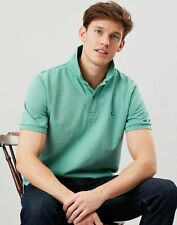 Joules Mens Woody Classic Fit Polo Shirt - Mint Green