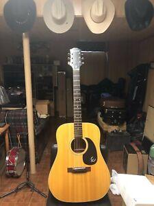 epiphone texan FT-145 acoustic guitar