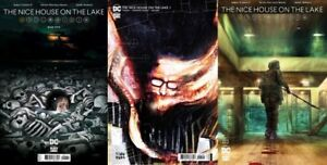 NICE HOUSE ON THE LAKE #1 WADES COMIC MADNESS STORE EXCLUSIVE SET OF 3 ROMERO