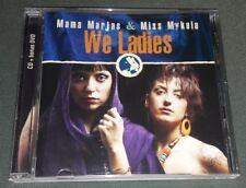 MAMA MARJAS & MISS MYKELA: WE LADIES (REGGAE!!!) CD+DVD