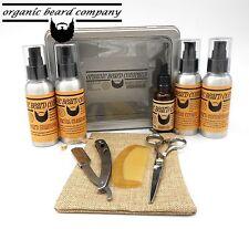 Organic Beard Luxury Beard Grooming & Shaving Kit 8 Pieces FREE UK Post