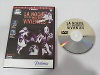 LA NOCHE DE LOS MUERTOS VIVIENTES DVD GEORGE ROMERO TERROR ESPAÑOL ENGLISH