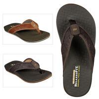 Mens Skechers Pelem Wesker Slip On Sandals Summer Beach Memory Foam Flip Flops