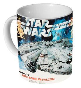 Airfix Star Wars Millennium Falcon Box Art - Coffee Mug / Tea Cup