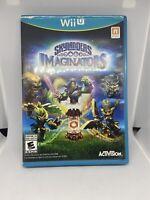 Skylanders Imaginators Game Nintendo Wii U 2014