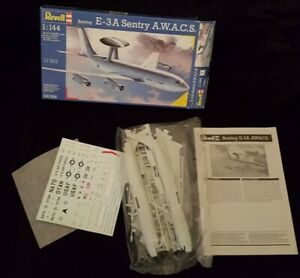 VINTAGE REVELL 1:144 SCALE MODEL 04364 . E-3A SENTRY A.W.A.C.S