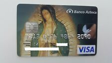 MEXICO - VISA - EXPIRED - CREDIT CARD - AZTECA BANK - VIRGEN DE GUADALUPE - RARE