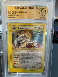 [GSG 6] Pokémon Karte Kabutops Skyridge Edition Mint 2003