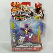 New listing Power Rangers Dino Super Charge Original Purple Ranger Figure Rare Htf New