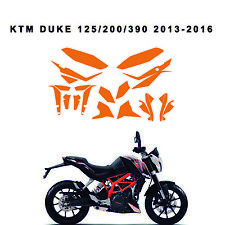 KTM duke 125/200/390 2013-2016 Graphics vector template customizable