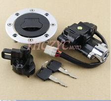 Ignition Switch Gas Cap Seat Lock Key for Suzuki GSF1200 Bandit 1997-2005