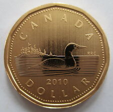2010 CANADA $1 LOONIE SPECIMEN DOLLAR COIN
