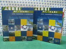 AEREI  MILITARI  Collection  Assi - Leggende   Volumi n° 1 e 2  -  Nuovi