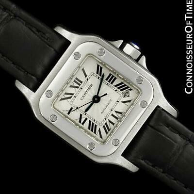 Cartier Santos Vendome Ladies Stainless Steel Watch - Mint with Warranty