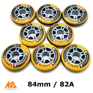 K2 PERFORMANCE FORMULA SKATE Fitness Allround ROLLEN 8x 84mm/82A (2x 3053004)