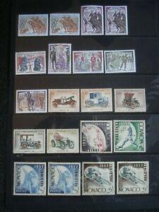 20 Excellent Quality Unused Stamps Monaco