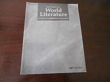Abeka World Literature Quiz/Test Key homeschooling highschool 10th grade Teacher
