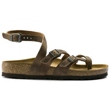 Birkenstock Seres Leather Casual Buckles Strappy Slingbacks Unisex Sandals
