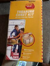 Treasure Chest Kit Wood Carpentry Craft Kit 0127757 by Red Tool Box Opened 421