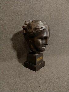 Hygieia (YREIA) Bust - Bronze-like - Ancient Greek Goddess of Health - Hygiene