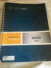 Microsoft Word 2007 : A Professional Approach by Deborah Hinkle (2007, Spiral)